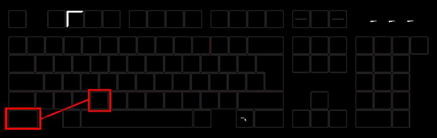 Bildserie Tastatur (Strg-C)