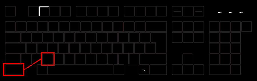 Bildserie Tastatur (Strg-X)