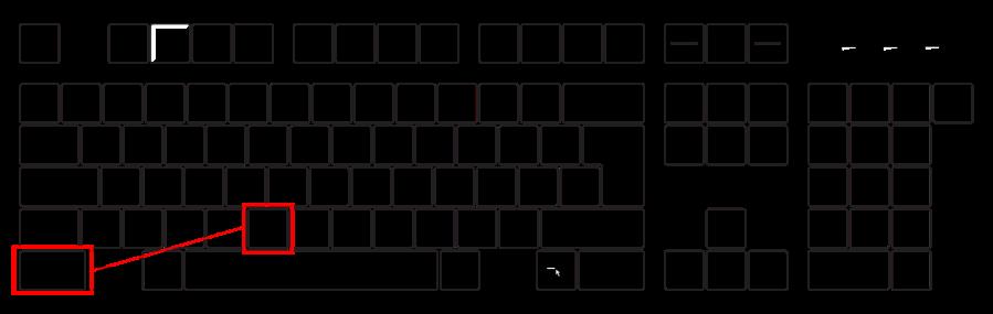 Bildserie Tastatur (Strg-V)