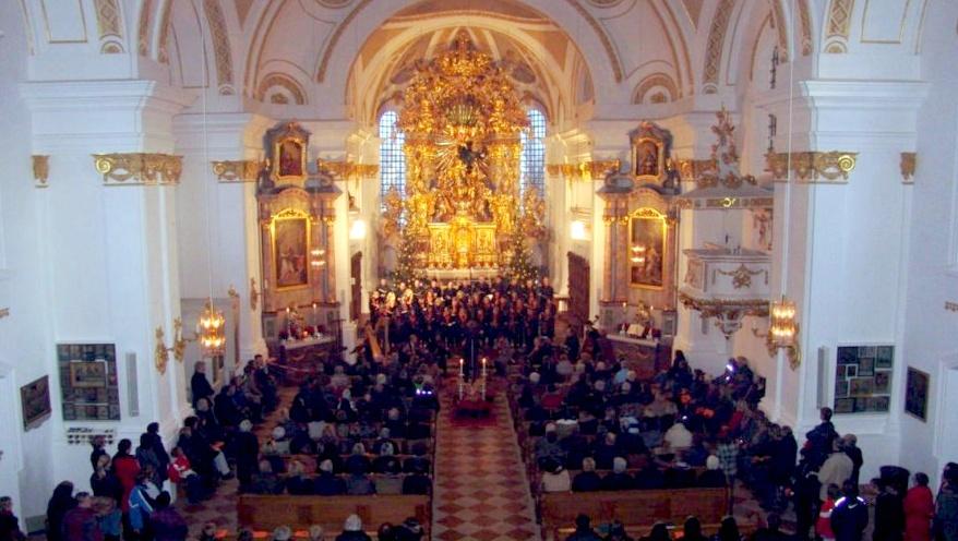 Maria Dorfen Kirche innen