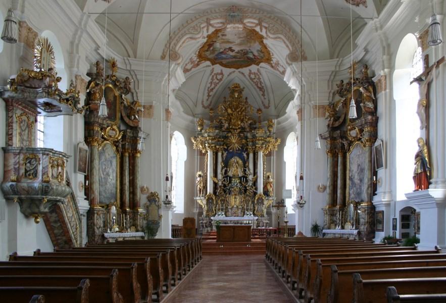 Pfarr- und Wallfahrtskirche Maria Tading - Innenraum