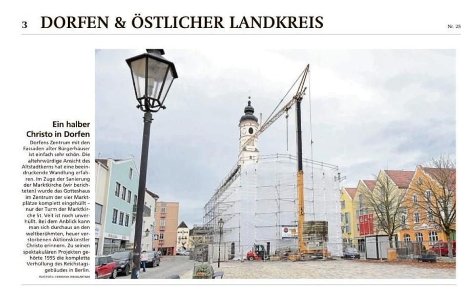 Renovierung Marktkirche