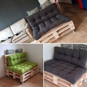 Die neuen Paletten-Möbel in den Jugendräumen St. Konrad
