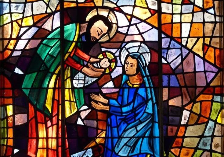 vitraux Noel