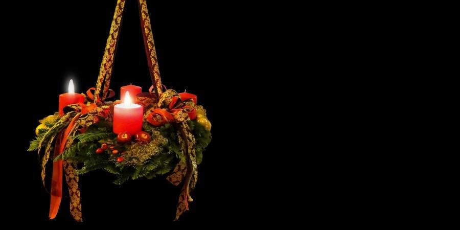 Adventskranz: 2. Advent