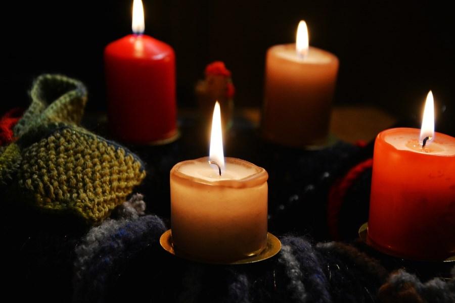 Adventskranz: 4. Advent
