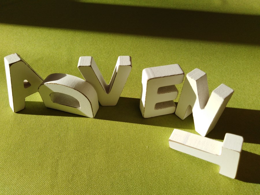 Advent Buchstaben