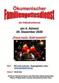 Plakat Ökumenischer Familiengottesdienst