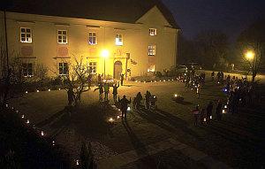 Lichterfeier Baumburg