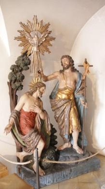 Eingangs Szene Taufe Jesu