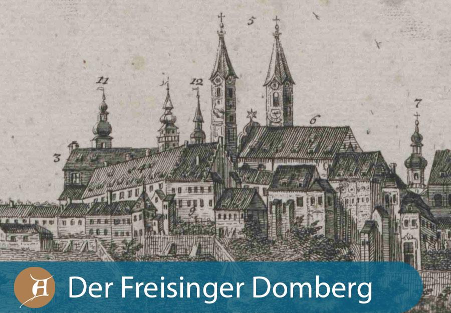 Grafik Der Freisinger Domberg