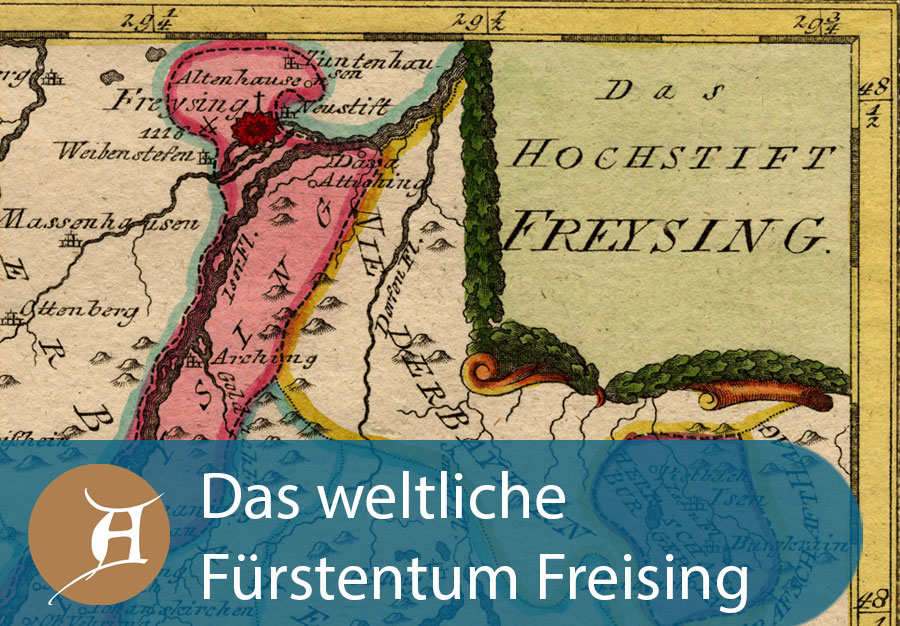 Grafik Das weltliche Fürstentum Freising