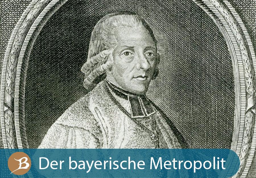 Grafik Der bayerische Metropolit