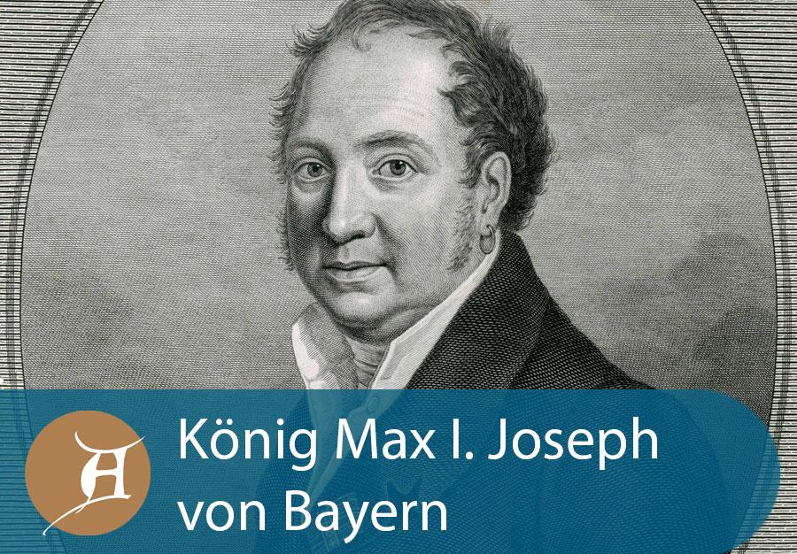 Grafik König Max I. Joseph von Bayern