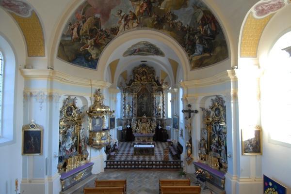 Innenansicht Kirche Rohrdorf