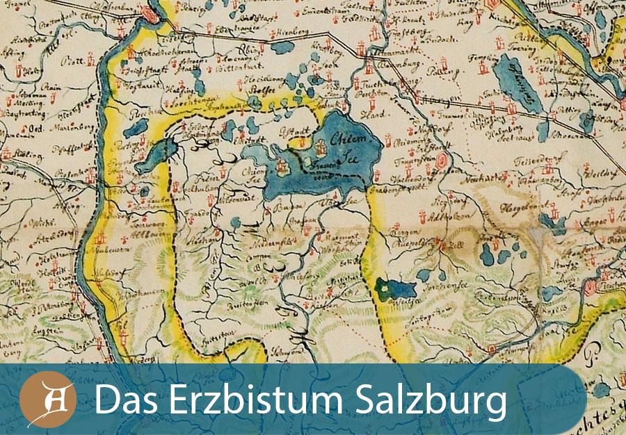 Grafik Das Erzbistum Salzburg