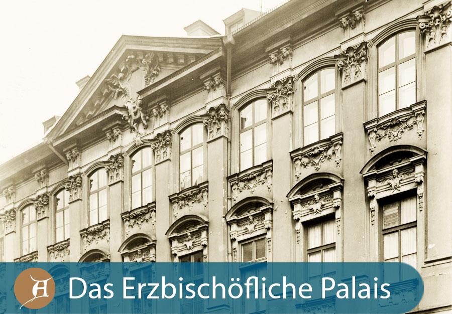 Grafik Das erzbischöfliche Palais