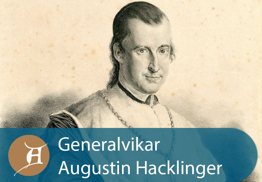 Grafik Generalvikar Augustin Hacklinger