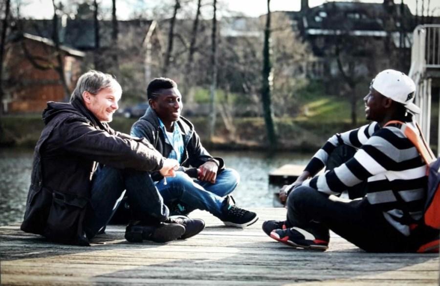 Gemeinsame Treffen an unterschiedlichen Orten ermöglichen eine lockere Atmosphäre zum praktischen Anwenden der deutschen Sprache