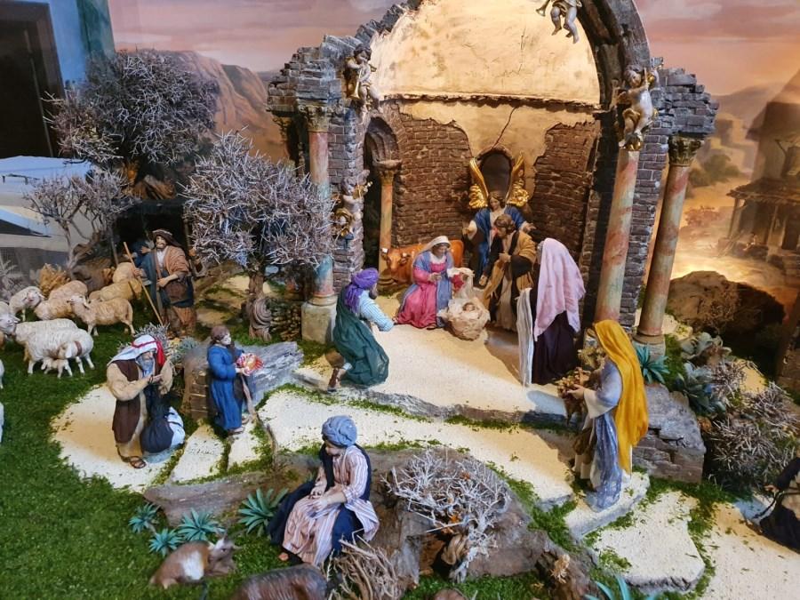 Weihnachtskrippe St. Jakob Wallgau