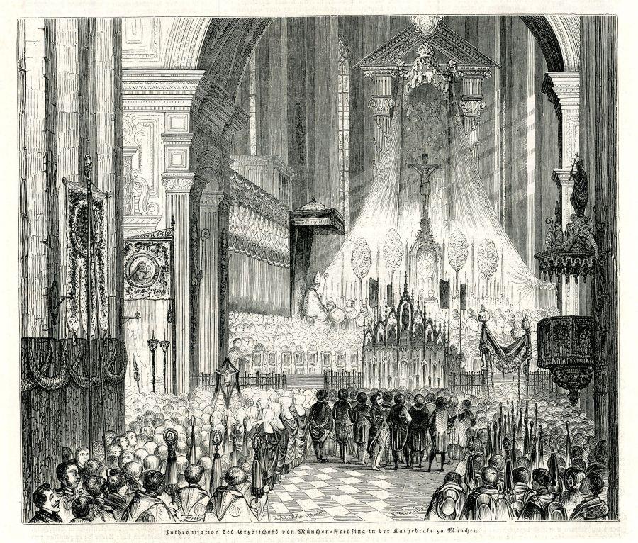 Holzstich von Franz von Seitz, 1847
