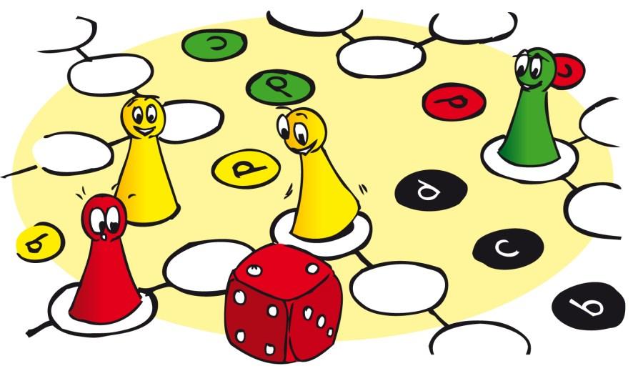 Symbolbild Spielbrett