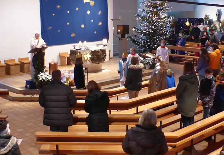 Segnung der Sternsinger 2021 in St. Alb.Magn.