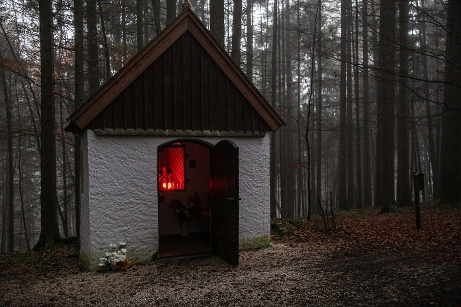 Kapelle Maria Tann bei Nirnharting Außenansicht