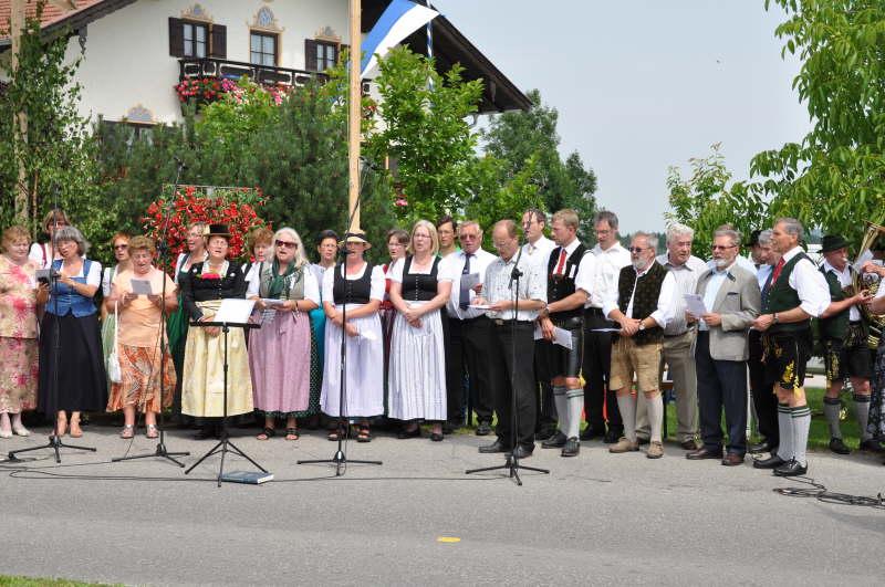 Kirchenchor 2012 Feuerwehrfest