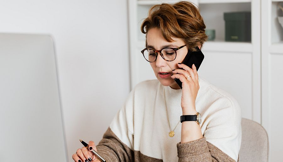 Beratung über die Telefonseelsorge