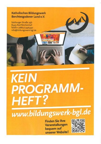 Plakat Bildungswerk 2021