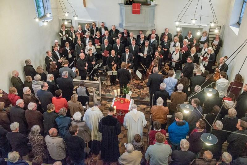 Ökumenischer Gottesdienst zur 500 Jahrfeier der reformation in Großkarolinenfeld