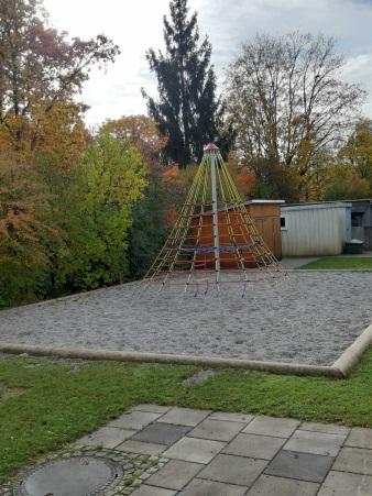 Garten Klettergerüst hoch