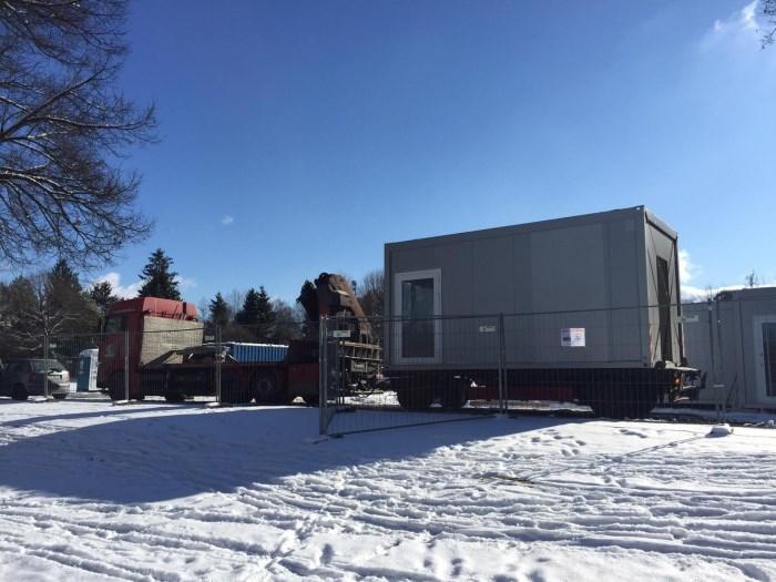 Aufbau Container