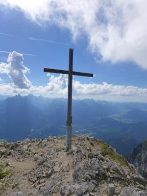 Gipfelkreuz Säuling