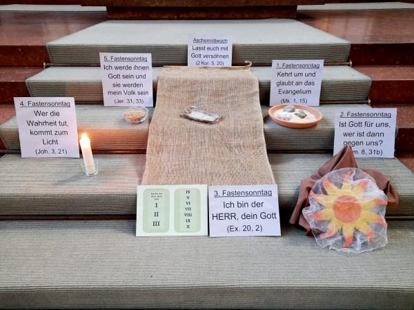 Memo f. d. Fastenzeit in Mariahilf