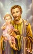 Josef mit Jesus