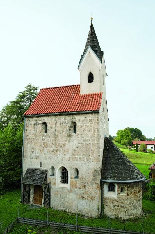 Außenansicht der Nebenkirche Thal