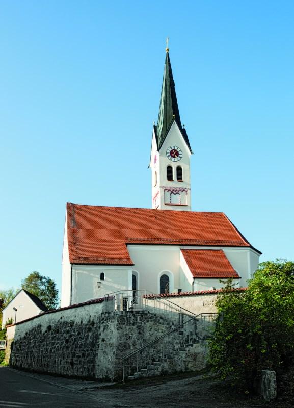 Außenansicht von Filialkirche Hohenthann