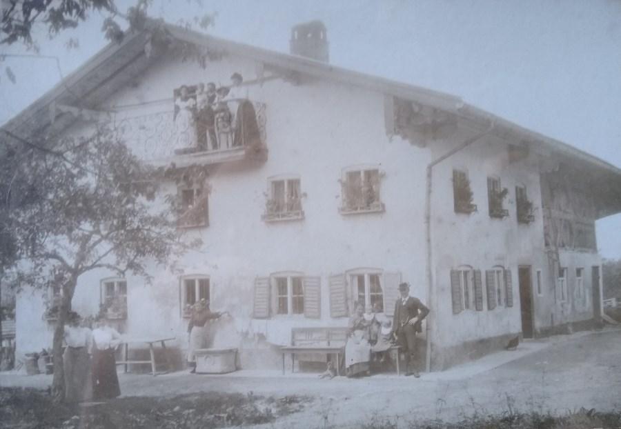 Binder Anwesen 1909