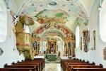 Innenraum der Pfarrkirche St. Martin, Ottendichl