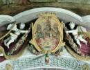 Stuck über dem Chorbogen, um 1725