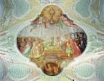 Bruderschaft der immerwährenden Anbetung, Chor-Deckenbild von Zächenberger, um 1725