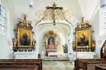 Salmdorfer Kirche innen
