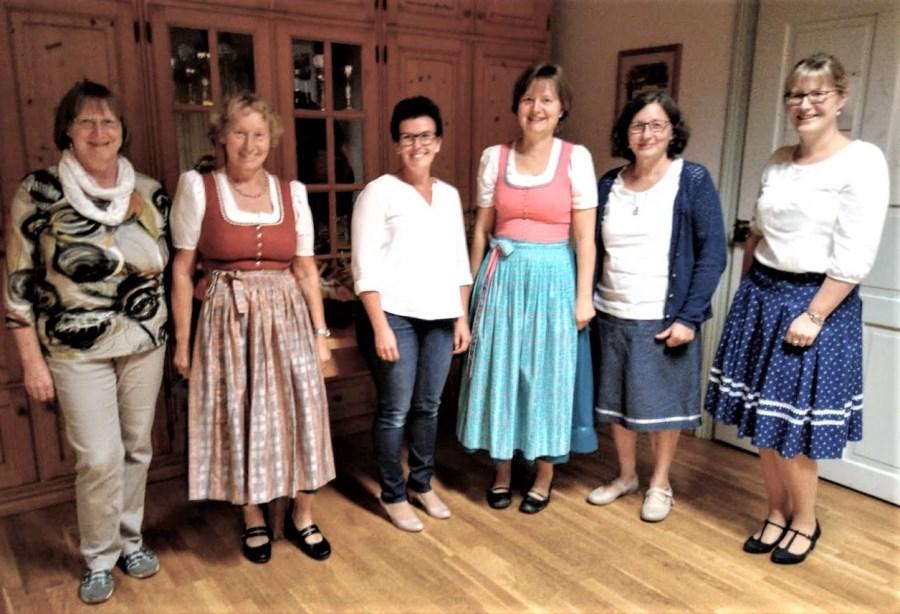 Vorstandschaft Mütterverein Schönau