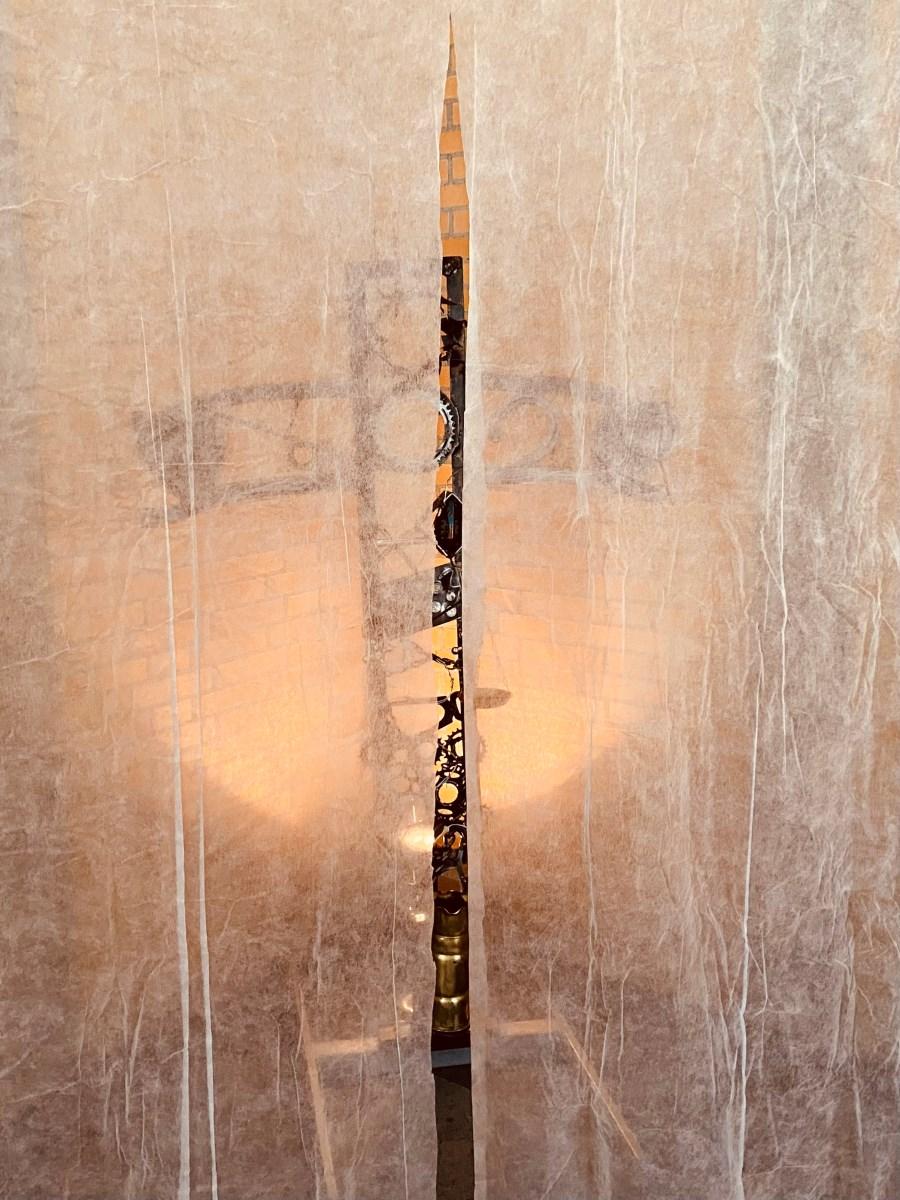 8. Installation (verhülltes Kreuz)