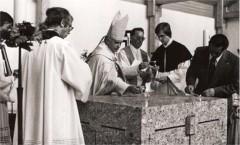 Altarweihe durch Kardinal Ratzinger