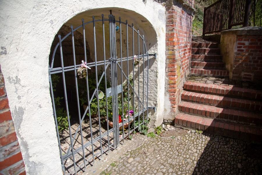 Zugang Korbiniansquelle Freising