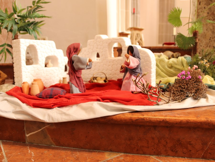 Maria bei Elisabeth / Magnifikat