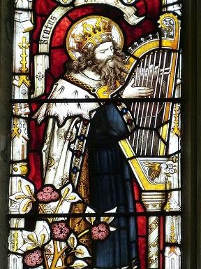 Kirchenfenster König David